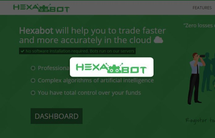 what crypto trader bot does hexabot use crypto coins invest review