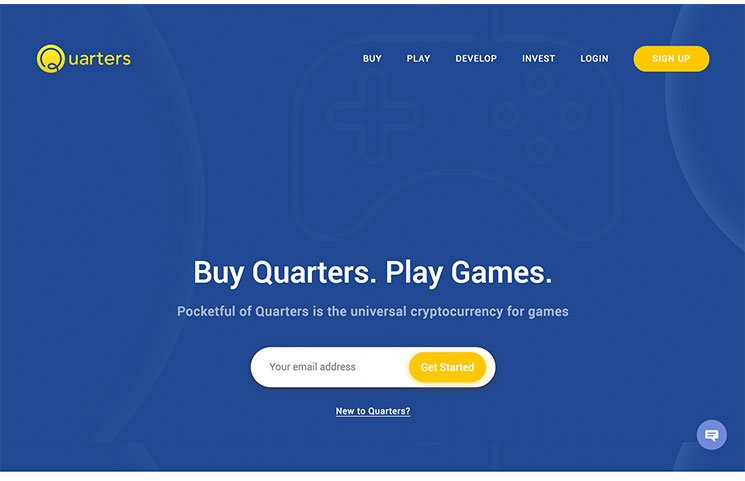 pocket full of quarters home page
