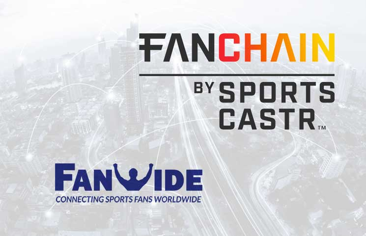 SportsCastr FanChain Bags Exclusive Deal With FanWide as Its Official Cryptocurrency