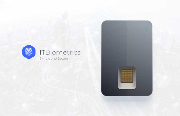ITBiometrics Launches a Cold Fingerprint Cryptocurrency Hardware Wallet