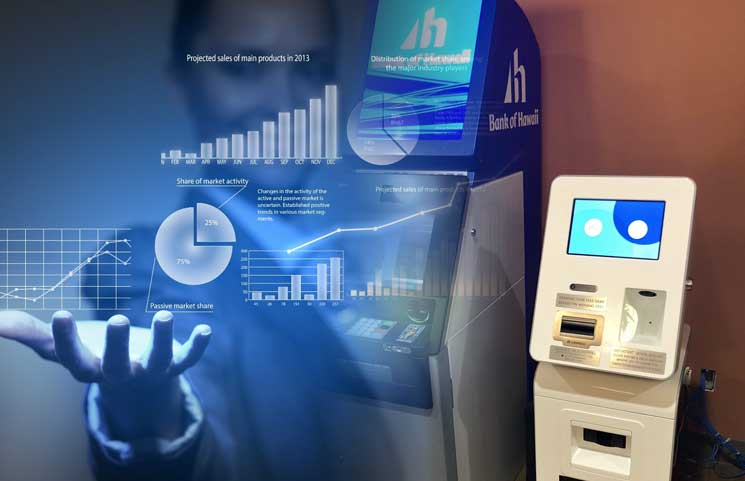 Coinradar Bitcoin ATM Data Shows Despite Falling Prices, Crypto ATMs Power Up Over 4,000 Locations