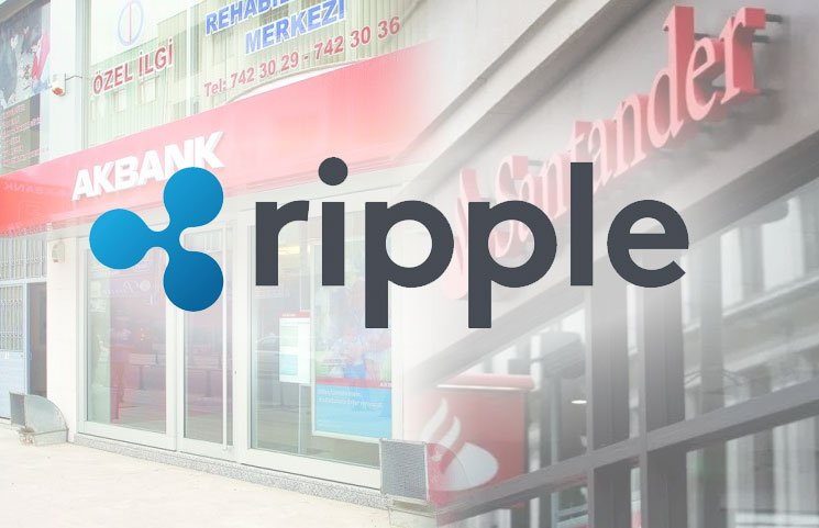 Ripple's Blockchain Used as Payment Processor for Turkey's Akbank and Santander Bank Transfer