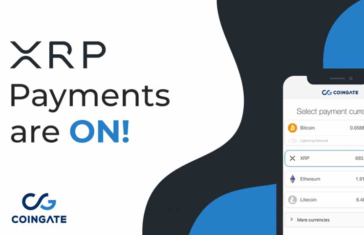 Ripple Community Rejoices As Merchants Can Now Accept XRP Payments With CoinGate