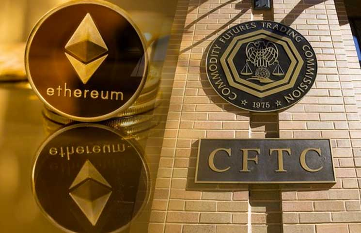 After Declaring Ethereum A Commodity, CFTC's Tarbert Believes ETH-Backed Futures Are Coming In 2020