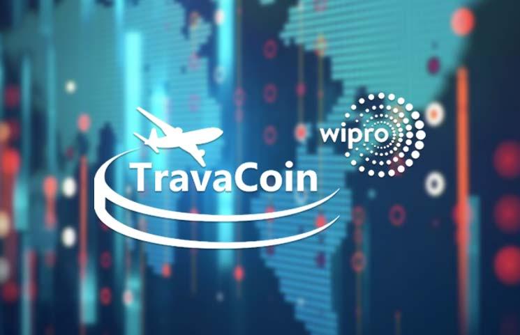 Wipro Works with Travacoin