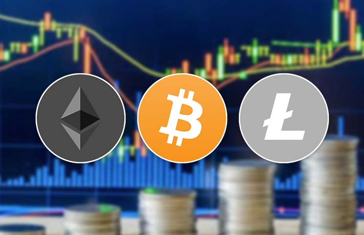 Bitcoin (BTC), Ethereum (ETH), and Litecoin (LTC) Analysis