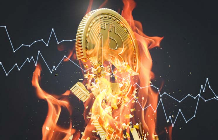 Crypto-Mine-on-Fire-Bitcoin-Hash-Rate-Slows-Uptrend