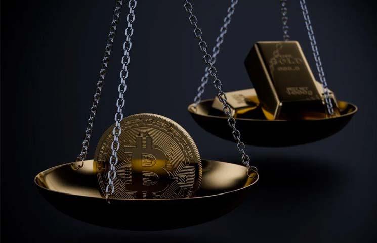 Bitcoin & Gold Crashes as S&P 500 Races towards All-Time High