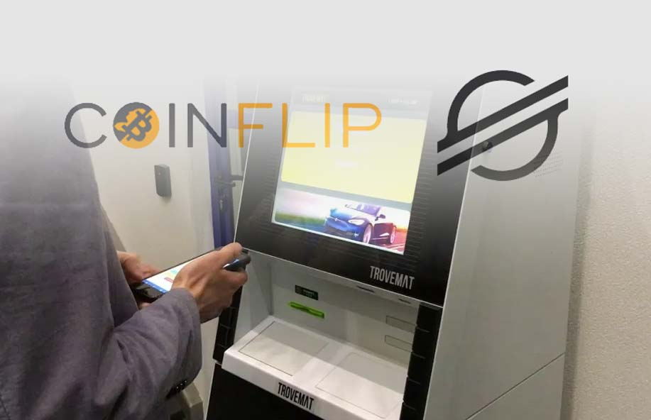 CoinFlip ATMs Now Support Stellar (XLM), Making It the 8th Cryptocurrency Added