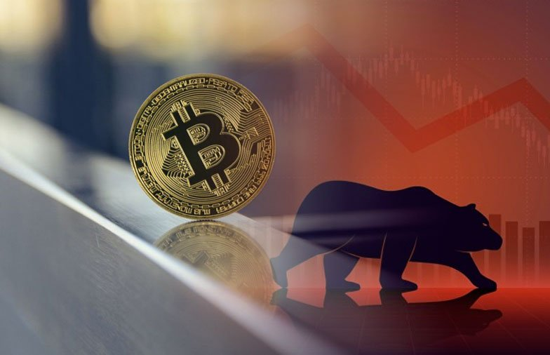 Odds Are In The Bears' Favor As Bitcoin Is Back on the Downslide; Losing 4.55% in Last 24 Hours