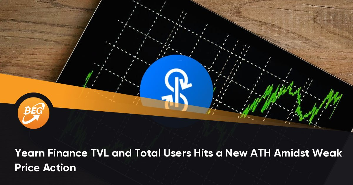 Yearn Finance TVL and Total Users Hits a New ATH Amidst Weak Price Action